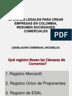 Resumen Sociedades Comerciales en Colombia - 2012