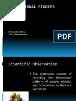 Class_8 Observational Studies