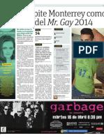 Compite Monterrey como sede del Mr. Gay 2014