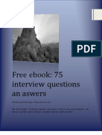 75 interview questions and answers - free ebook 1.0 by 4career.net.pdf