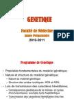 Génétique- FM 2011