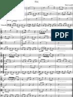 Locatelli - Sheet Music - String Quartet - Partituras - Cuarteto - Aria