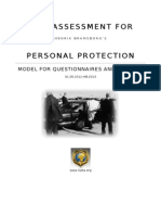 Bodyguard Risk Assessment Model A