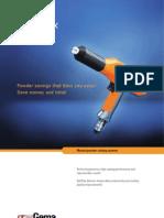 Gema Optiflex l Manual Powder Coating