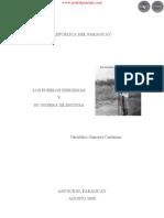 LOS PUEBLOS INDIGENAS Y SU GUERRA SILENCIOSA - GERALDINO GAMARRA CARTAMAN - AGOSTO 2008 - ASUNCIÓN - PARAGUAY - PORTALGUARANI