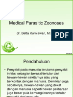 Medical Parasitic Zoonoses