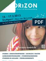 Messemagazin Stuttgart 2013