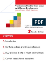 The developmental impact of early experience