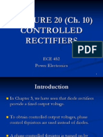 Three phase rectifiers