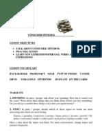 Upper Intermediate - Consumer Spending