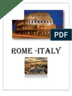 Rome TRIP SUMMER 2013