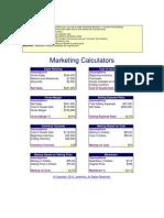 Marketing Calculators