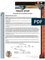 Truck Stop Mission Special Rules