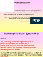 Marketing Research 1