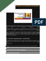 Los Derechos Humanos en la Constitución Colombiana