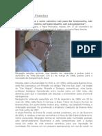 Perfil Do Papa Francisco