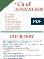 7 Cs of Effective Communication 2