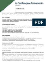 Conteúdo Programático - Hardware Manutenção em Notebooks