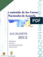 contenidos cursos alcaudete 2013