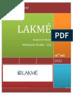 BM Lakmé - Maitreyee Shukla 122