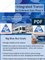 Big Blue Bus & the Expo Line