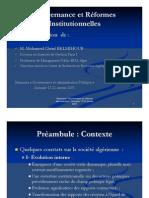 reforme administratif