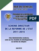 Schema Directeur Reforme Etat