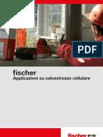 Applicazioni fischer su calcestruzzo cellulare