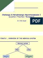 1 Cholinergic & Noradrenergic Transmission I