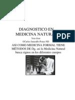 Diagnostico en Medicina Natural