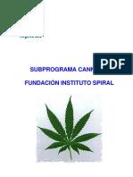 10.3 Subprograma Cannabis