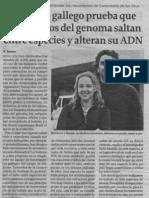 Transmisión horizontal de la informacíón genética