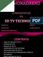 3d Tv Technology New