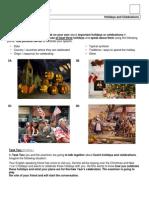 3. část maturity z anglického jazyka - ústní část_11_Z_Holidays and Celebrations (2012_new)