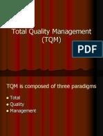 6 Total Quality Management (TQM)