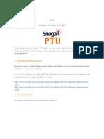 Manual Ptu SP456