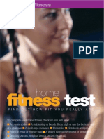Fitness Test at Home