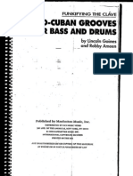 Afro-cuban Grooves for Bass and Drums by Lincoln Goines And
