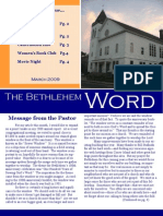 BCC Newsletter March 09