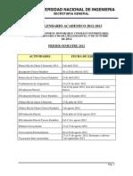 Calendario Academico 2012 2013 Act