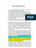 Sumula e Jurisprudencia Comentada 28.04.2011