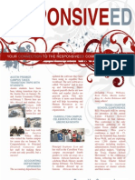 Responsive Ed March 2009 Newsletter