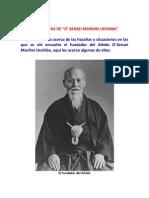 Anécdotas de Aikido