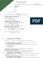 Board Pattern Mathematics Paper II