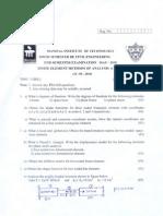 Finite Element Methods of Analysis (CIE-306.5) [1]