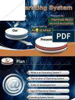 Presentation English operating System