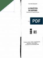 Benjamin - La-dialéctica-del-suspenso