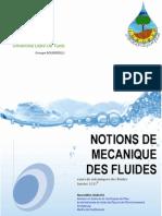 Cours Mecanique Des Fluides
