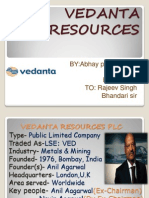 Vedanta Resources plc.