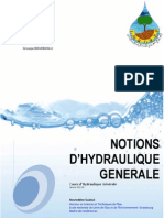 Cours Hydraulique Generales
